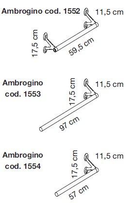 Ambrogino misure