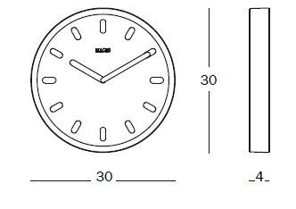 Orologio Tempo misure