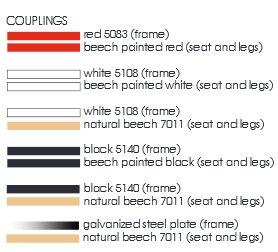 Steelwood Chair colori