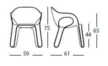 Easy Chair misure