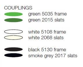 Striped Sgabello colori